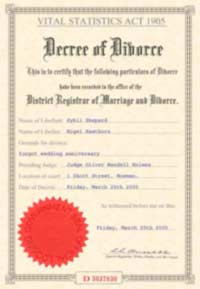 Beautiful Fake Documents.com On Fake Divorce Certificate