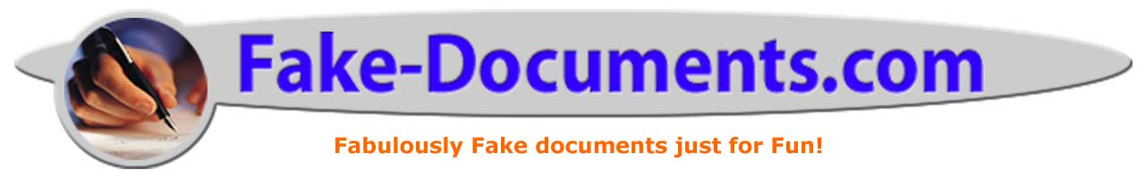 Make a Fake Document Today!